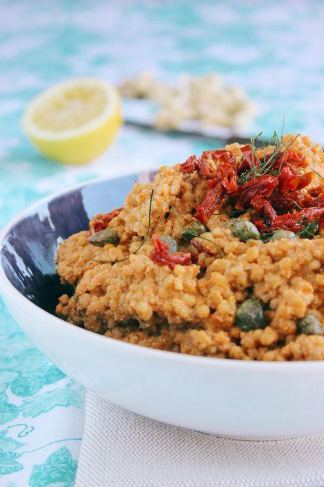giroVegando in cucina: Cuscus con pesto di pomodori secchi