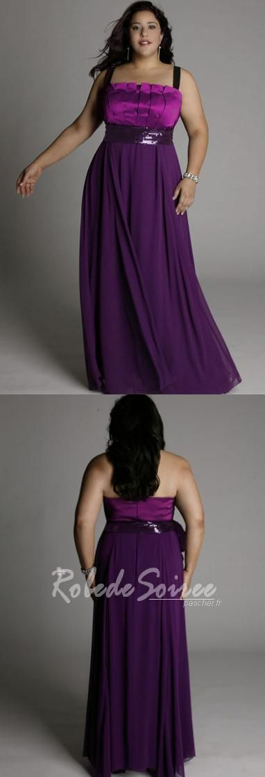 Robe soiree grande taille mi longue