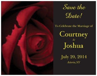 like for the rsvp card not the invitation   Save The Dates  Beauty and the Beast Wedding