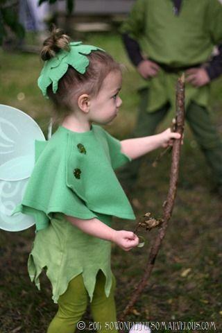 DIY Peter Pan   Tinkerbelle Costume 052                              …