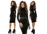 Платье гольф Mona черное
