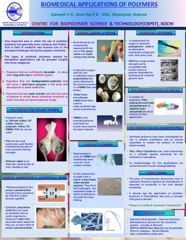 BIOMEDICAL APPLICATIONS OF POLYMERS  Saneesh V S , Amal Raj R B - MSc. Biopolymer Science  • Bone fractures are  occasionally...