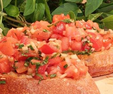 Rezept Bruschetta von Tornadokessel - Rezept der Kategorie Vorspeisen/Salate