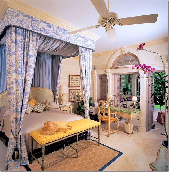 British Colonial Bedroom Decor