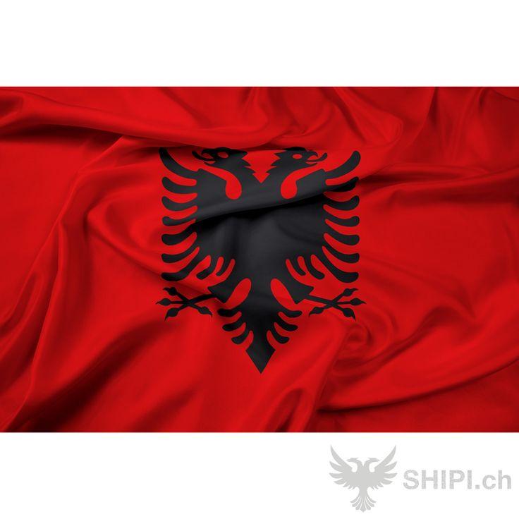 Albanische Flagge - http://shipi.ch/shqiptare-shop/artikel-mit-albanischer-flagge/albanische-flagge/ http://shipi.ch/wp-content/uploads/2014/04/Albanische-fahne.png