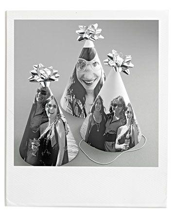 Photo birthday hat tutorial