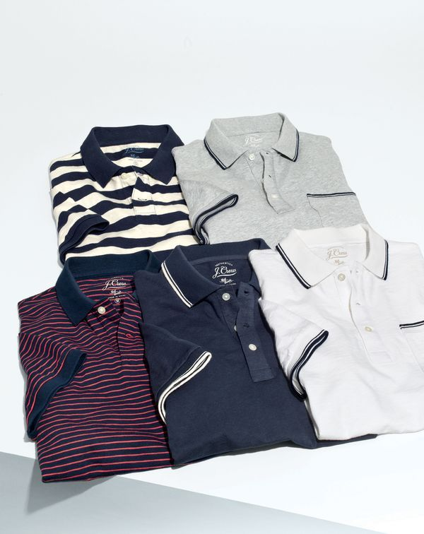 What we do at J.Crew: the world's best polos. We got the washes just right, perfected our spot-on fits and created a brand-new selection of men's styles—all so you can look effortlessly put-together.