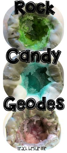 Rock Candy Geodes •|• I finally managed to grow rock candy so naturally, this is the next challenge