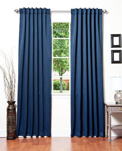 AWESOME blackout curtains that comes in pink, powder blue, orange, brown, black, purple, white, navy, green, burgundy, WOW