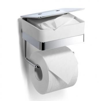 Giese 31770 02 Toilet Duo For Wet Wipes With Roll Holder