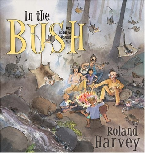 Follow our family on a holiday to the bushland or to the busy city. Track their adventures in Roland Harvey's amazingly detailed and humorous illustrations. See what memorabilia they collect along the way