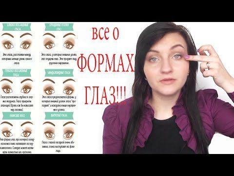 ФОРМА ГЛАЗ! Как узнать форму глаз, как делать коррекцию формы глаз. Уроки макияжа! - YouTube