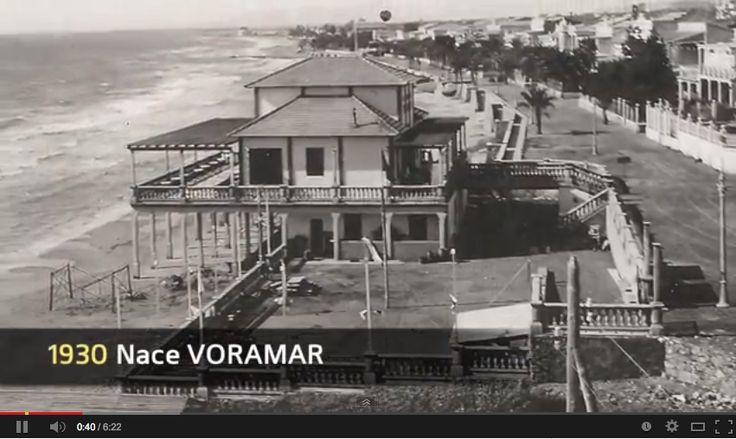 El Voramar en 1930. Benicasim