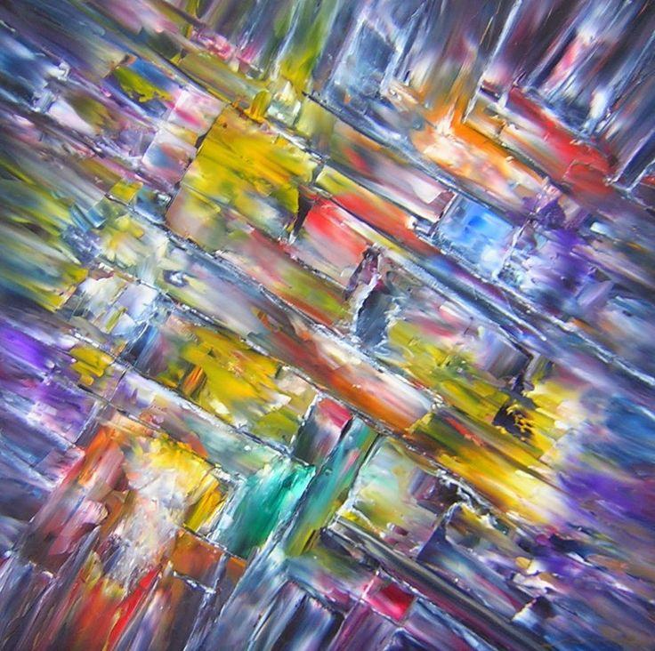 "ONE STEP BEYOND Original Oil Painting 24""X24"" by John R Jurisich"