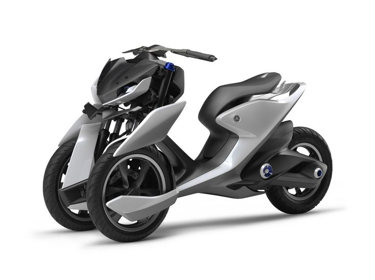Yamaha Scooter Concepts: Yamaha has unveiled two concepts for its Scooter,  which features three wheels and an ultra-futuristic silhouette.