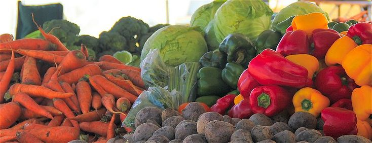 Get delicious local fruits and vegetables at Barbados grocery stores, supermarkets and farmers markets. http://barbados.org/barbados-supermarkets.htm