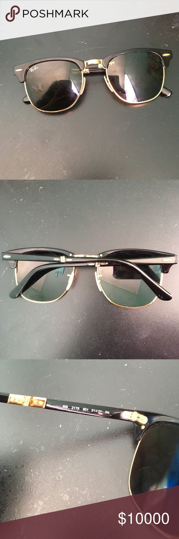 Ray bans sunglasses Trading and buying! In great condition kinda dirty but will clean before shipped. Trading, looking for ray bans aviators or Erika. You can now buy this item if you want. I will accept both trade and buying! Doesn't come with a case! Authentic! Ray-Ban Accessories Sunglasses