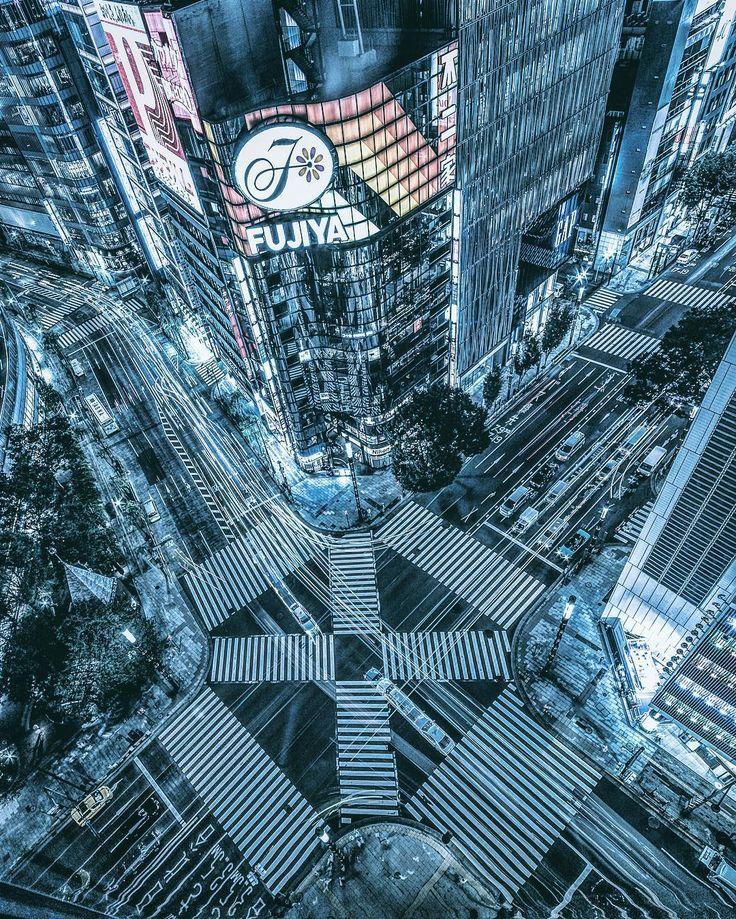 Magical Urban Photography Of Tokyo's Streets by Yoshito Hasaka #inspiration #photography