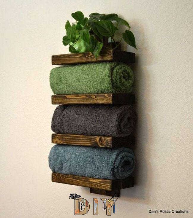 Minimalist Bathroom Items: Towel Rack Decoration Ideas To Match Your Minimalist