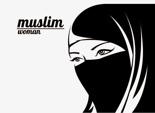 Milhoes De Imagens Png Fundos E Vetores Para Download Gratuito Pngtree Muslim Women Black And White Women