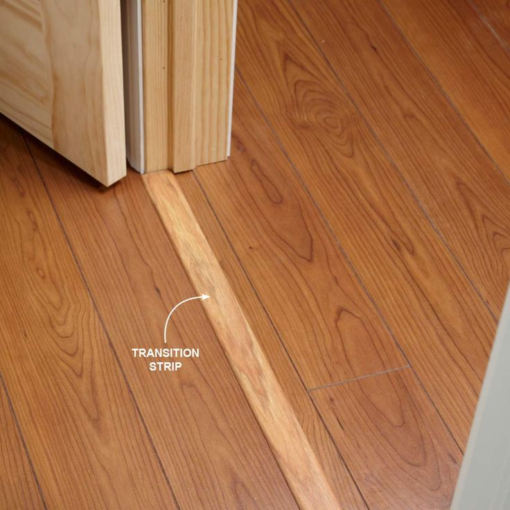 Use Transition Strips Under Doors Installing Laminate