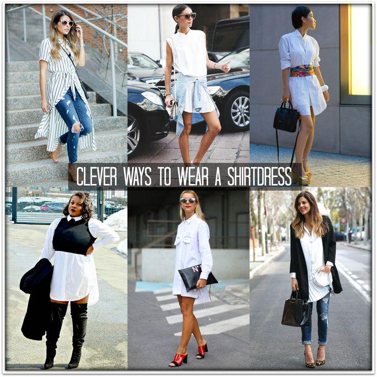 Cleaver Ways to Wear A Shirtdress #everydaystyle #annreinten #pretastyler #myprivatestylist #styletips #shirtdress #principlesofstyle