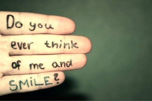 do you think of me..
