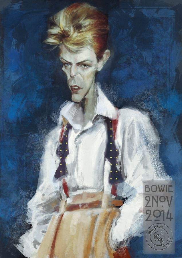 Beauuuuuuuu comme Bowie!