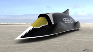 Jetblack, the New Zealand-led challenge for the world land speed record, is bringing their full-size concept car to CRC Speedshow.  The massive, sleek black concept car will dominate all other vehicles on display at this year's CRC Speedshow at the ASB Showgrounds on 21 and 22 July. The monocoque chassis of Jetblack concept car is New Zealand's first-ever world land speed record attempt.  Tickets to the show are Children (10-15 years) $10, Adults $20, Children under 10 FREE.