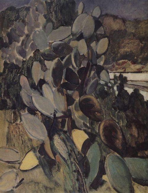 Cacti, Kuzma Petrov-Vodkin - #Art #LoveArt http://wp.me/p6qjkV-akx