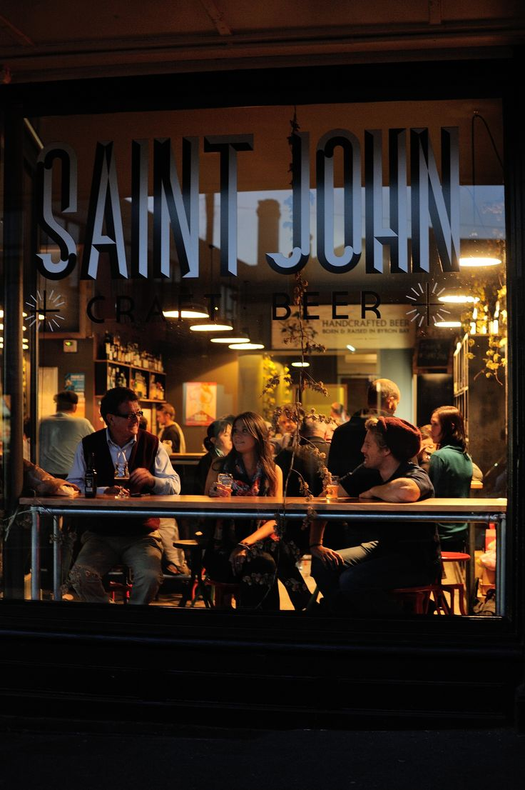 Try local beverages at the Saint John Craft Beer Bar in Launceston. Photo TNT and Chris Crerar.
