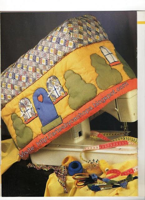 capa de maquina de costura - La gran casita