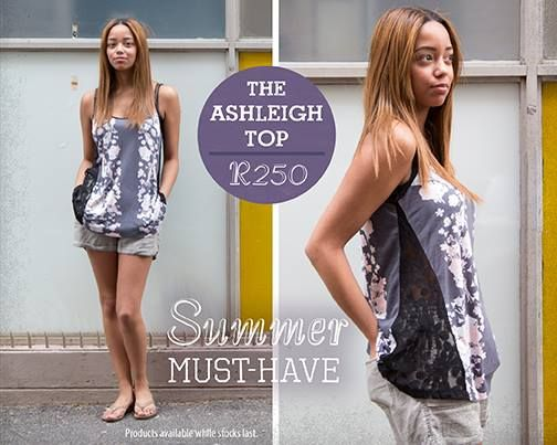Old Khaki Summer Must have-Ashleigh Top