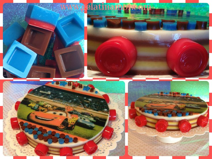 Jelly Cakes Cars!
