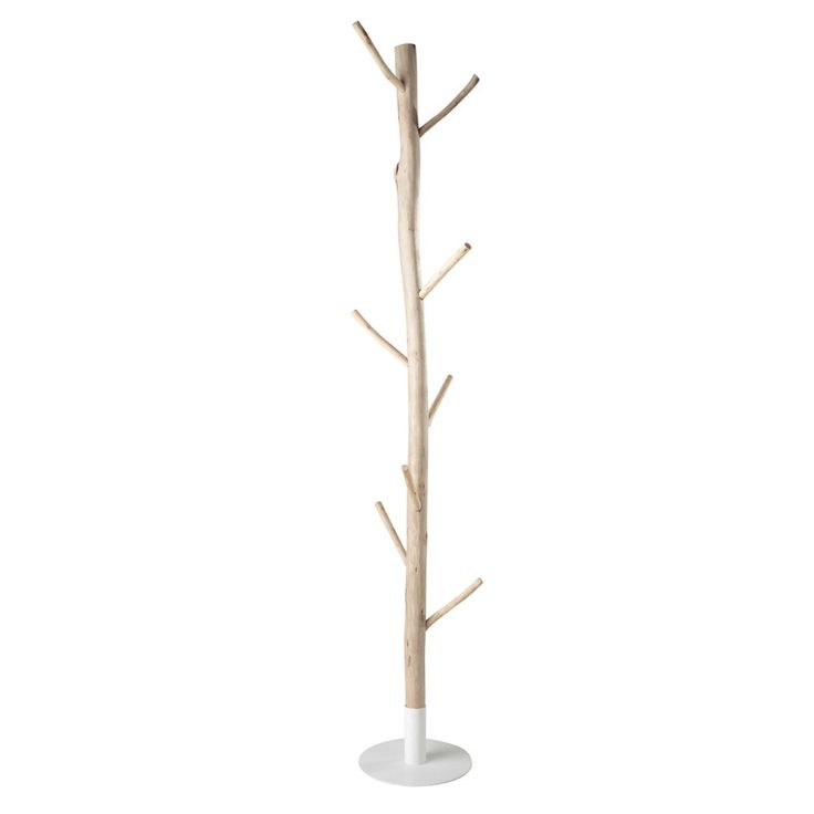 RIVAGE coat stand, wood and metal