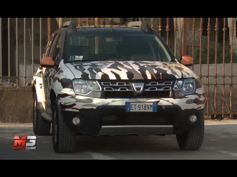NEW #DACIA DUSTER BRAVE - FREEWAY - TITAN 2015 - FIRST TEST DRIVE
