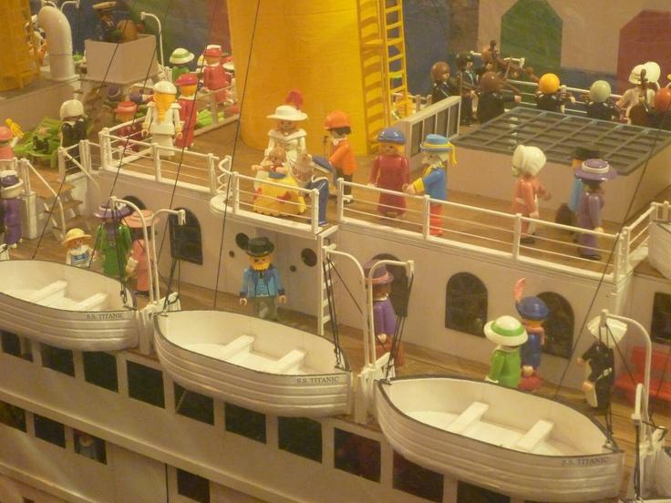 Titanic de Playmobil.