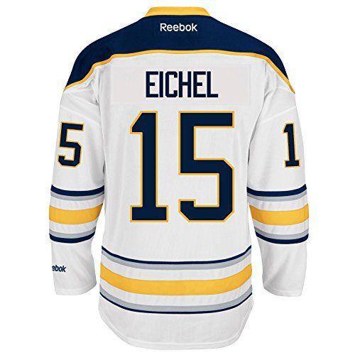 cc26cc1ce Sale 89.99 Jack Eichel Buffalo Sabres Reebok Premier Replica Home NHL Jersey  White XL Reebok http ...