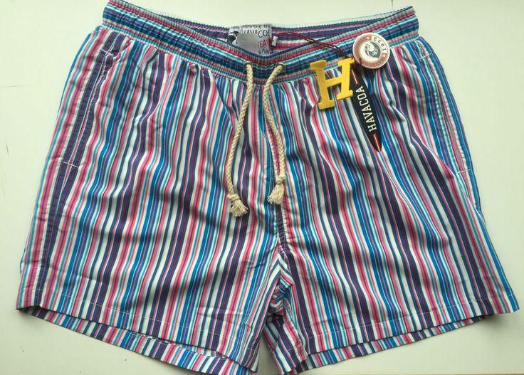 Mens Havacoa Swim Shorts Surf Shorts  Authentic New M   RRP£85