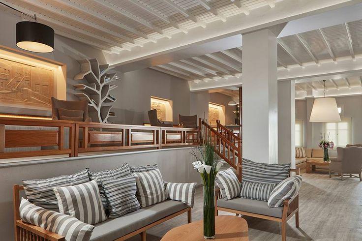 The lounge of #Mykonos Kosmoplaz Beach Resort #Hotel is classy and an elegant corner to unwind whenever you feel like!