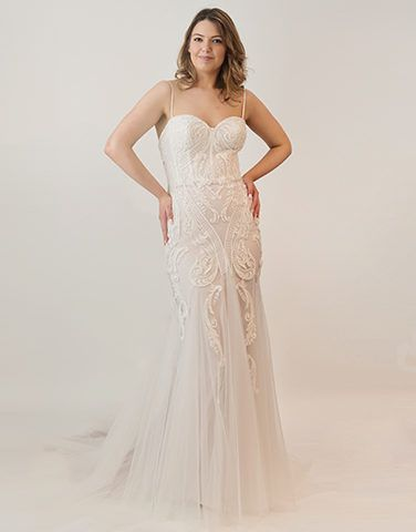 Peter Trends Bridal Gown PT17007