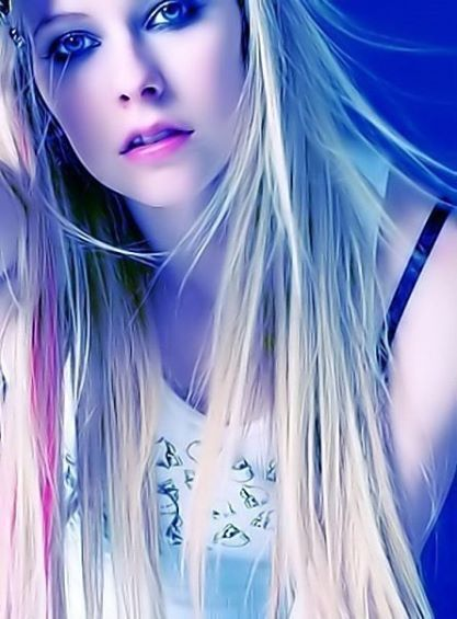 Avril Lavigne rare photo, beautiful