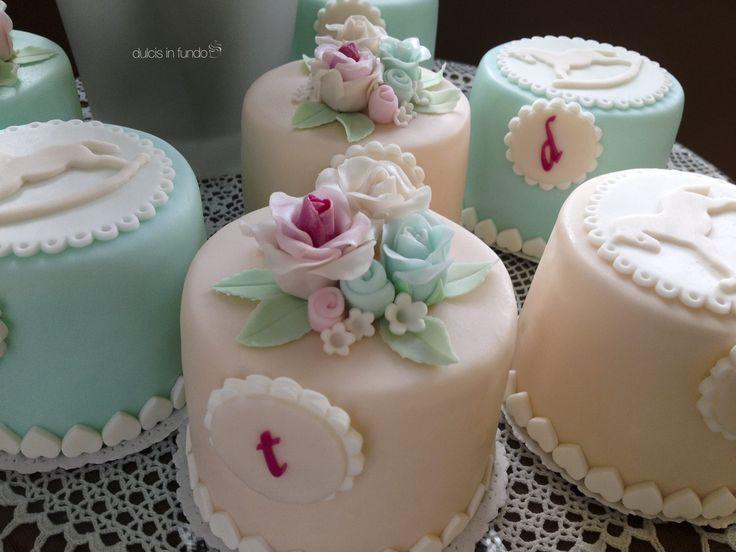 Mini cakes per un dolcissimo battesimo by dulcis in fundo