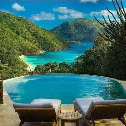 Beautiful Ghana Island In The British Virgin Islands Northeast Caribbean Ocean Beach Travel