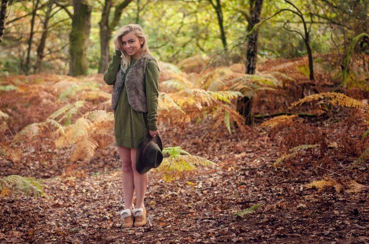 The British Girl: Autumn Leaves