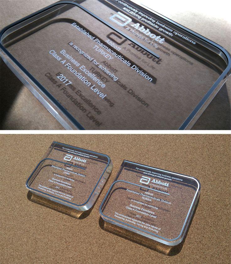 Abbott 2017 acrylic awards
