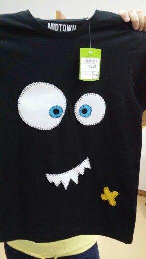 Camiseta monstruosa!