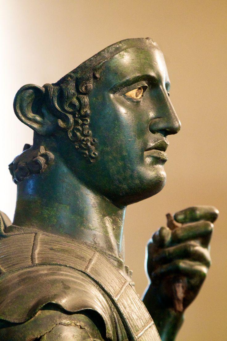 Marte de Todi, arte Etrusco. Bronce.