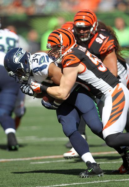A.J. Hawk Photos - Seattle Seahawks v Cincinnati Bengals - Zimbio
