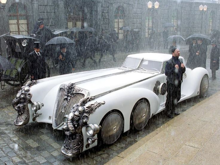 The League of Extraordinary Gentleman...this car is fully functional but not street legal.